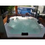 instalação de banheira spa com assento Mucajaí
