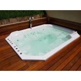 instalação de banheira spa em área externa preço Itapecerica da Serra