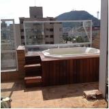 instalação de banheira spa sextavado preço Bragança
