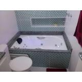 instalação de banheiras comuns Lajeado do Bugre