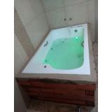 instalação de banheira dupla com hidro