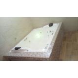 instalação de banheira de fibra