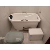 instalação de banheira de imersão