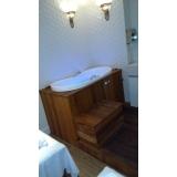 instalação de banheira em apartamento
