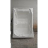 instalação de banheira simples