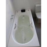 instalação de banheiras simples GUABIROTUBA