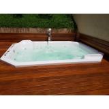 instalação de banheira spa com cama