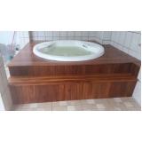 instalação de banheira spa com deck
