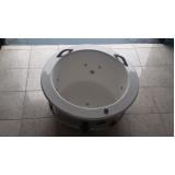 onde comprar banheira redonda simples Goiana