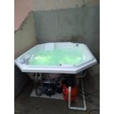 onde comprar banheira spa 4 lugares Jardim Guanabara