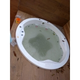 onde encontro banheira redonda banheiro Nova Boa Vista