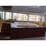 onde tem instalação de banheira spa sextavado Teresópolis