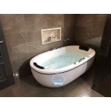 orçamento de banheira dupla completa com aquecedor Porto Seguro