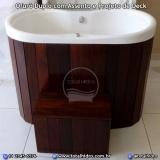 orçamento de banheira ofurô com assento Dourados