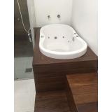 orçamento de banheira ofurô com deck São José