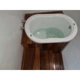 orçamento de banheira ofurô individual Manoel Urbano