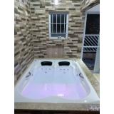 preço de banheira dupla em fibra de vidro Nova Venécia