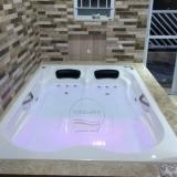 preço de banheira hidro dupla gel coat Sombrio
