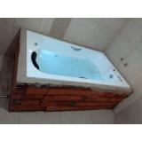 preço de banheira para box Marechal Thaumaturgo