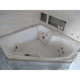 quanto custa instalação de banheira de canto dupla Foz do Iguaçu