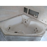 quanto custa instalação de banheira de canto para banheiro Canela