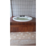 quanto custa instalação de banheira dupla com hidro Cotia