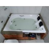 quanto custa instalação de banheira dupla completa Campo Largo
