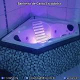 quanto custa instalação de banheira dupla de canto Nova Brasilândia d'Oeste