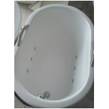 quanto é banheira individual simples Uberaba
