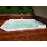 quanto é instalação de banheira spa em área externa Miranorte