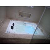serviço de instalação banheira dupla Londrina
