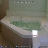valor de banheira de canto funda Vale do Itajaí