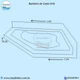valor de instalação de banheira de hidro canto em apartamento São José