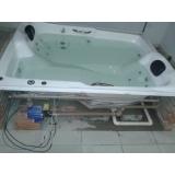 venda de banheira hidráulica preço Nova Boa Vista