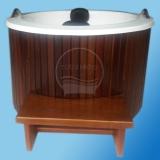 venda de banheira ofurô com deck preço Nova Cruz