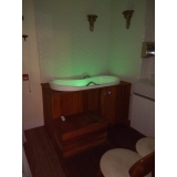 venda de banheira ofurô com deck Canela