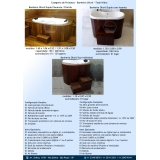venda de banheira ofurô de fibra valor Alto Alegre